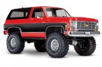 Traxxas TRX-4 Chevy K5 Blazer Crawler XL-5 (no batty/chg), RED