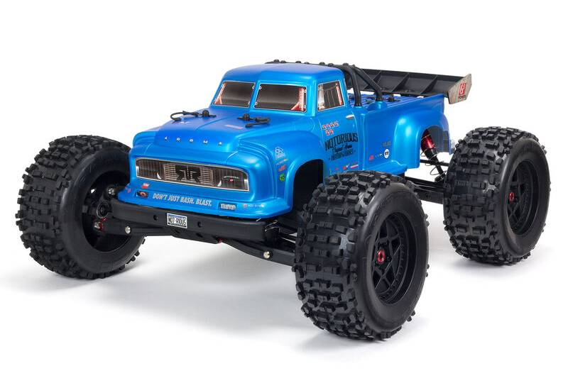 ARRMA NOTORIOUS 6S V5 4WD BLX Stunt Truck with Spektrum RTR