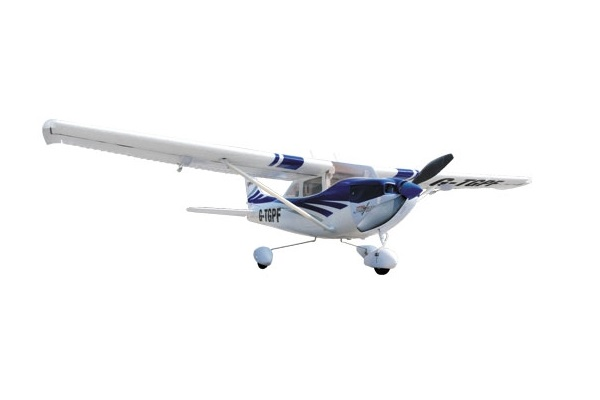 Top Gun Park Flite Cessna 182 Blue RTF Trainer RC Airplane