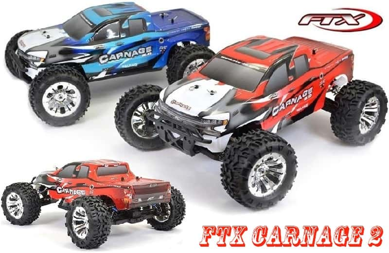 FTX CARNAGE 2 1/10 BRUSHED RC TRUCK 4WD RTR