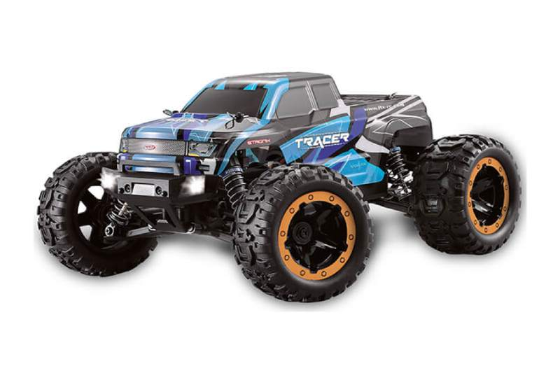 FTX TRACER 1/16 4WD RC MONSTER TRUCK RTR - BLUE